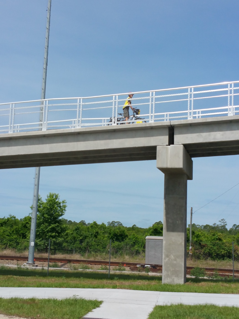 New Blue Spring Overpass on SJR2C