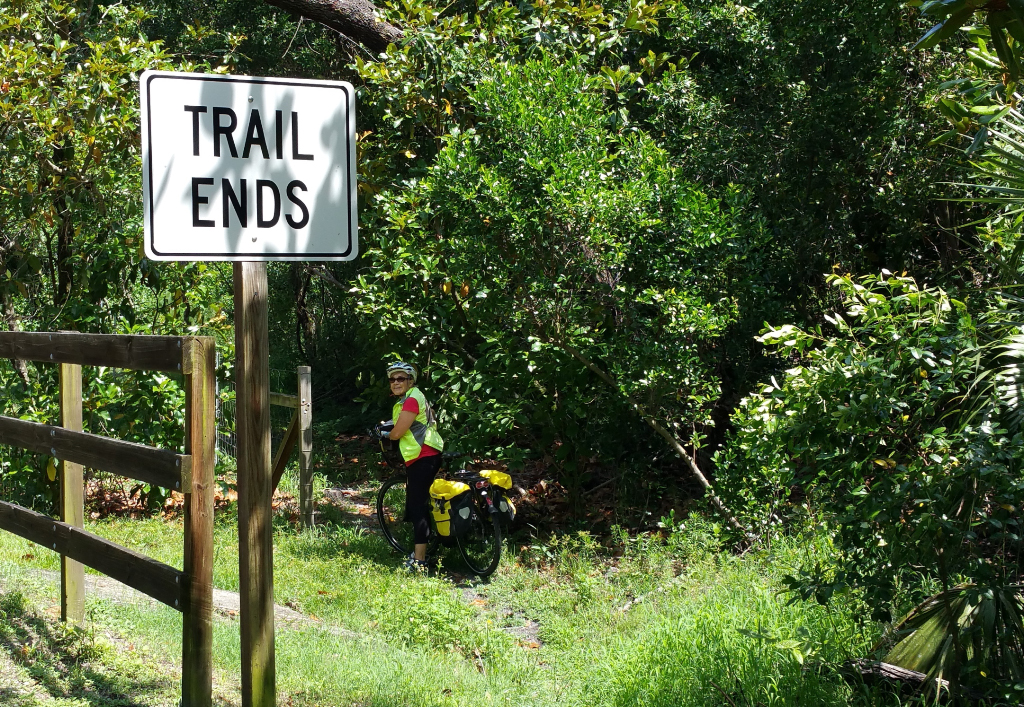 Alternate route to SJR2C Beresford Trail avoids Fatio Rd