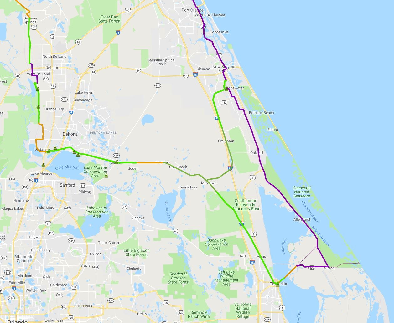 South Volusia New Section | St Johns River-to-Sea Loop Alliance on cross florida barge canal, volusia county, st. marys river, chattahoochee river, lake monroe, caloosahatchee river, pa river map, alpine river map, silver springs, russia river map, pee dee river map, john day river map, james river, peace river, huron river map, st. lawrence river map, tennessee river, caloosahatchee river map, arkansas river map, rio grande river map, vernon river map, dames point bridge, kingston river map, st. clair river map, missouri river map, ocklawaha river, suwannee river, mississippi river map, st. augustine, apalachicola river, indian river county, henry's fork river map, suwannee river map, mn river map, kanawha river map, withlacoochee river, st. louis river map, vero beach, lake george,