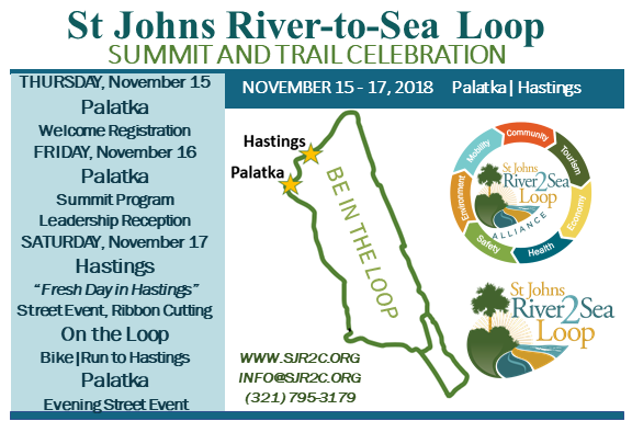 Sj Johns river-to-Sea Loop Summit Announcement
