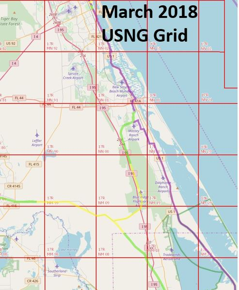 SJR2C with USNG Grid