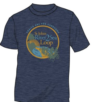 St Johns River to Sea Loop T-Shirt  #LoopGear  #River2SeaLoopT-shirt
