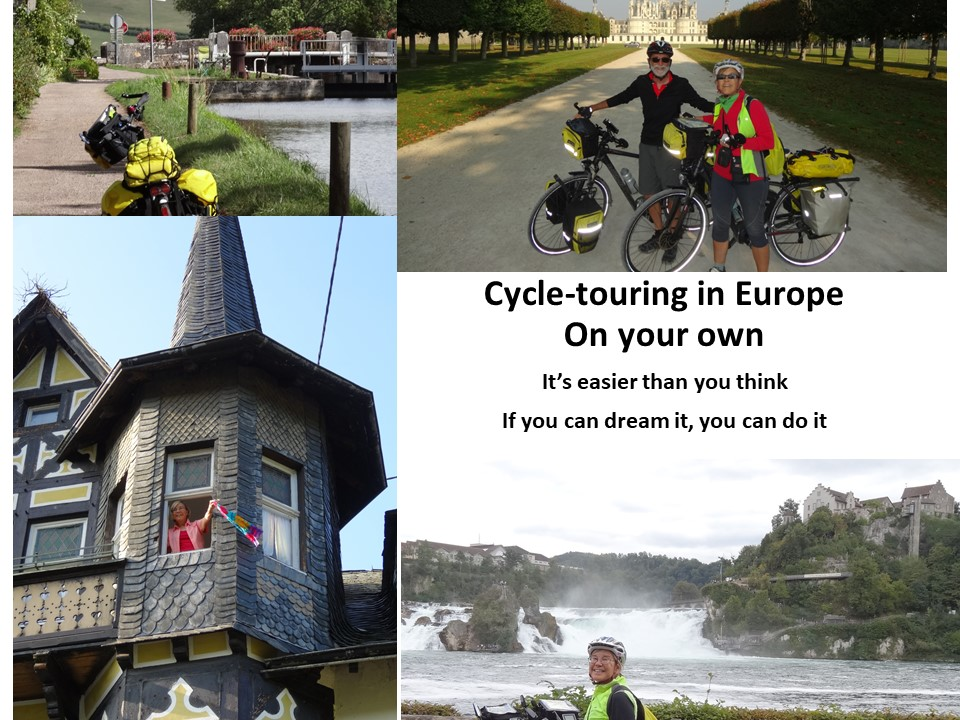 Cycling Europe on your own on a Shoestring