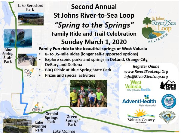 Spring to the Springs Ride