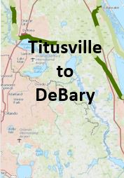 Titusville to DeBary