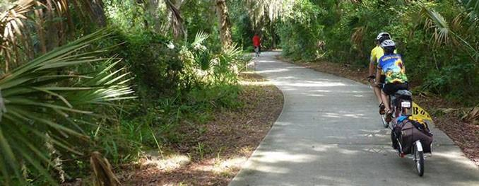 First Florida Rail to Trail Tour on St JOhns River-to-Sea Loop