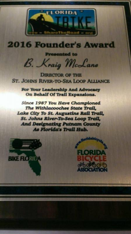SJR2C Director Kraig McLane Honored with Founders Award