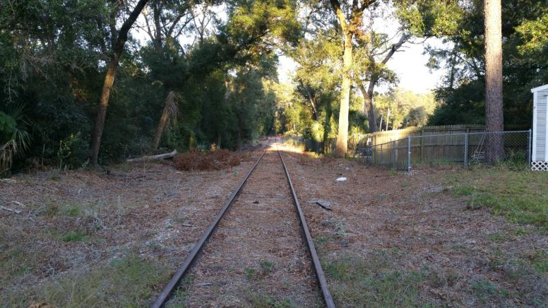 Deland RR Spur to St Johns River-to-Sea Loop at Ridewood Ave