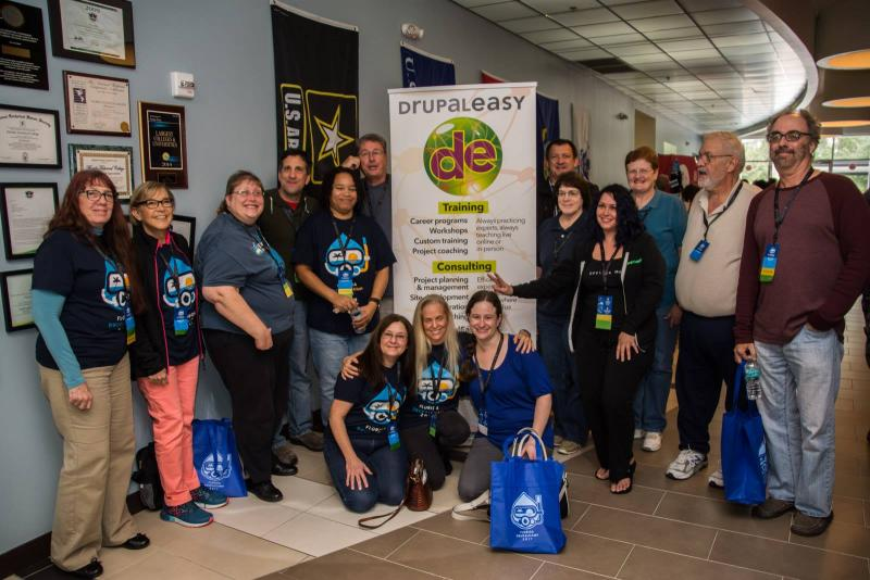 Drupal Career Program Alumni at Florida Drupal Camp 2017