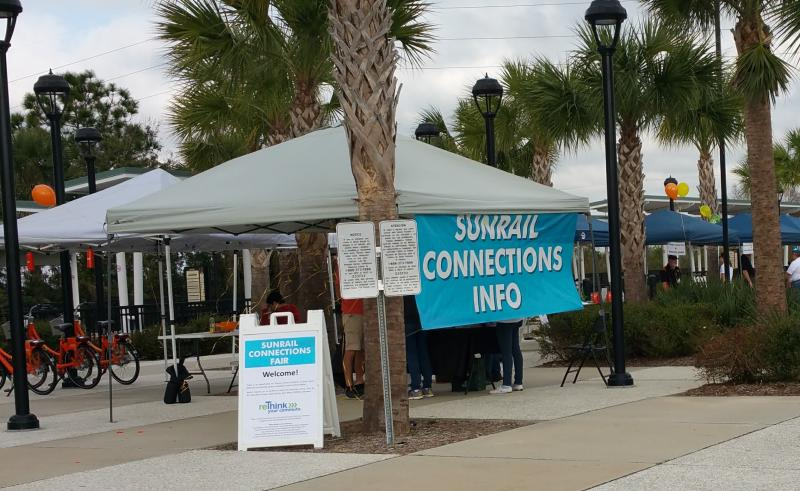 DeBary SunRail Connections Fair by reThink Your Commute