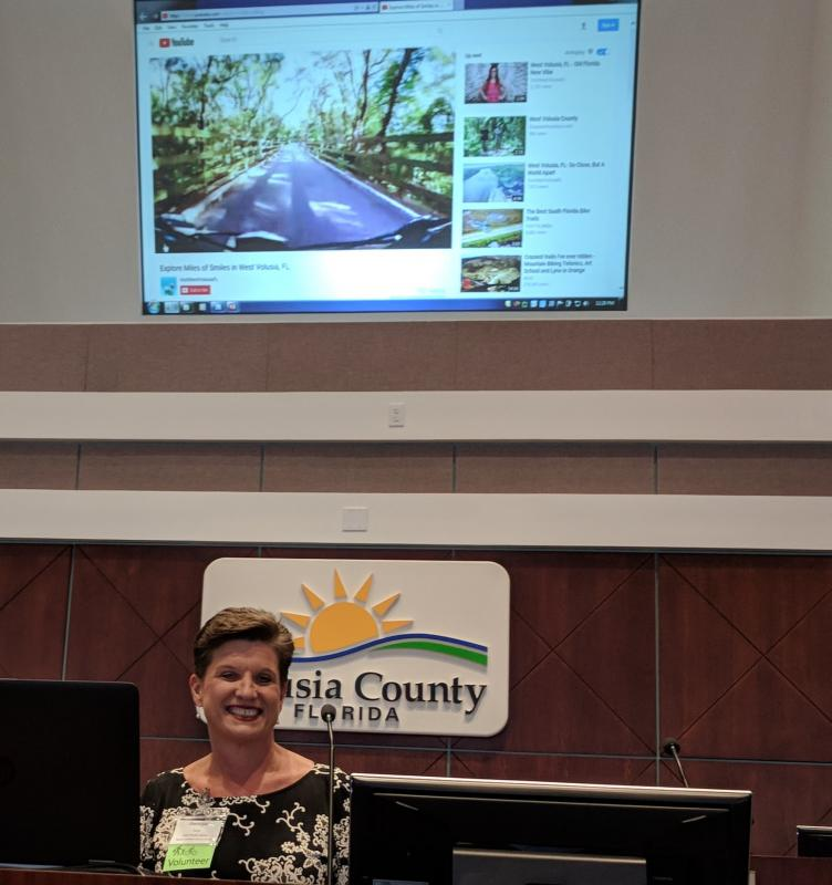 Miles of Smiles from Georgia Turner of Visit West Volusia at #SJR2CSummit