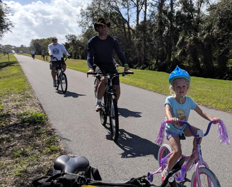 All ages enjoy the St Johns River-to-Sea Loop SJR2C