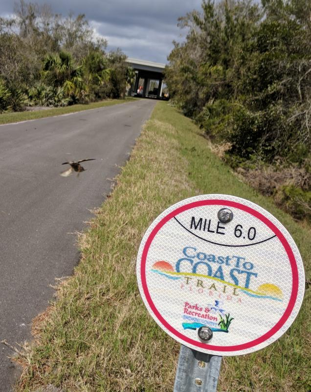 Coast-to-Coast mile markers already in place - soon SJR2C Loop with official miles
