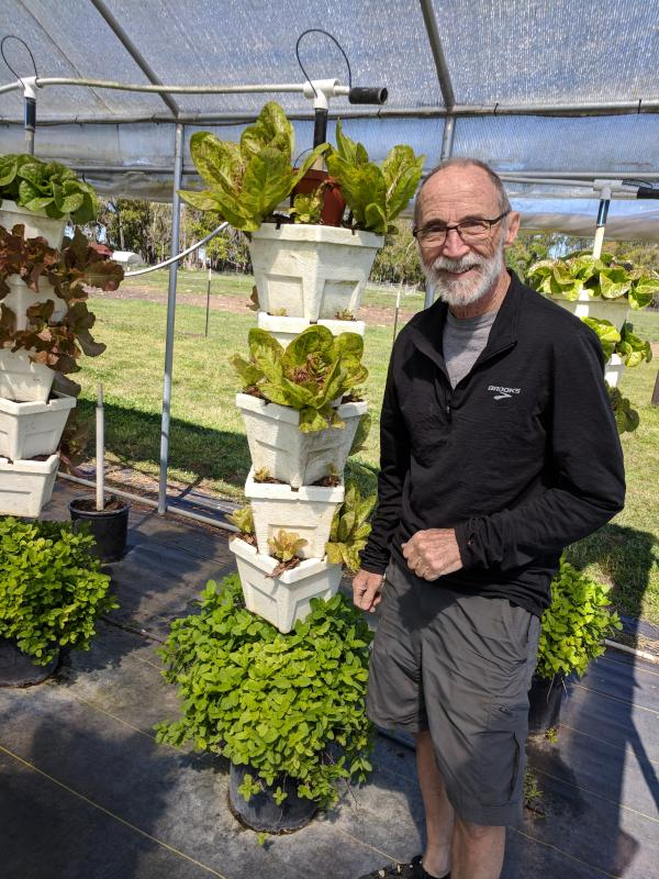 Jim loves the innovative Vertigro farm