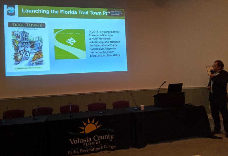 Doug Alderson of OGT discusses Florida's Trail Town Program