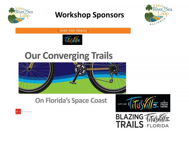 Titusville Premier River to Sea Loop Stakeholder Workshop Sponsor