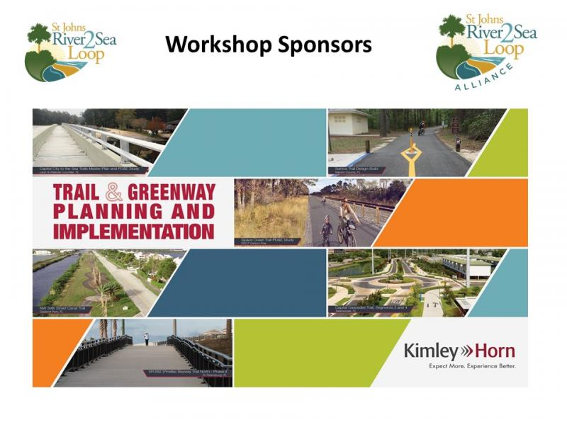 Kimley-Horn Premier River to Sea Loop Stakeholder Workshop Sponsor