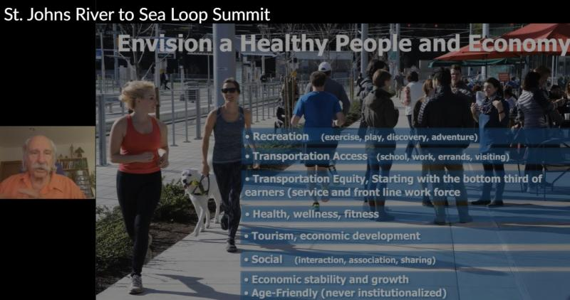 Dan Burden River2Sea Loop Summit :Envision Healthy People and Economy