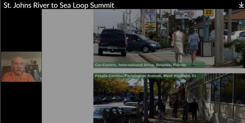 Dan Burden River2Sea Loop Summit: Car-centric VS people-centric