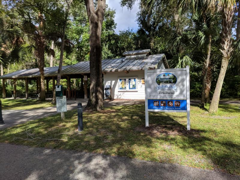 DeBary Hall Historic Site and Trail Welcome Center