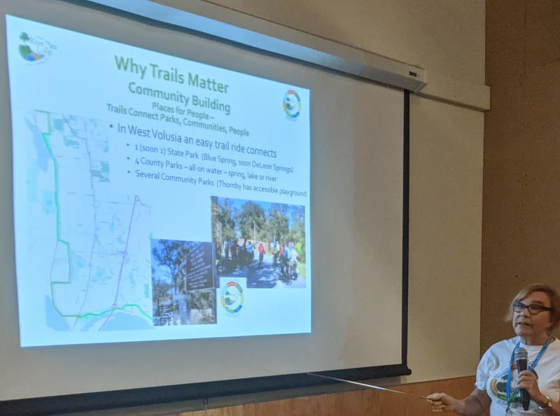 Trail Talk  at DeBary Hall