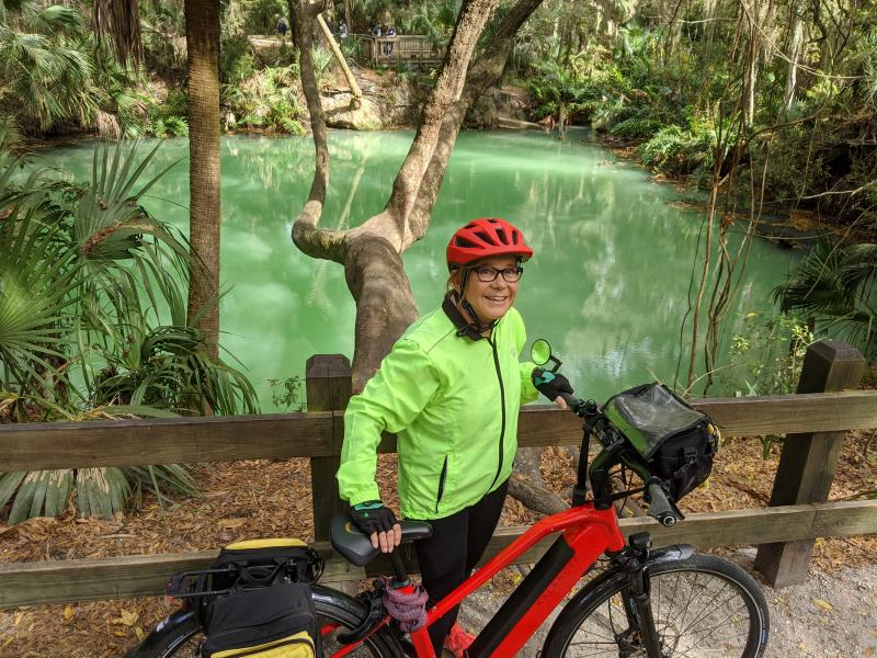 Green Springs Park  on St Johns River to Sea Loop
