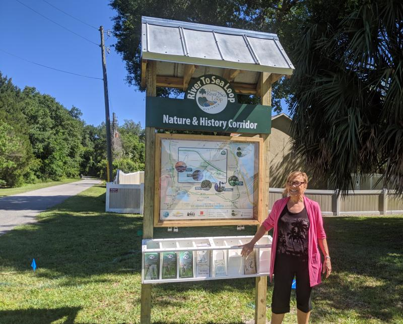 River to Sea Nature and History Corridor on St Johns River-to-Sea Loop