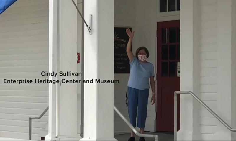 Cindy Sullivan at Enterprise Museum