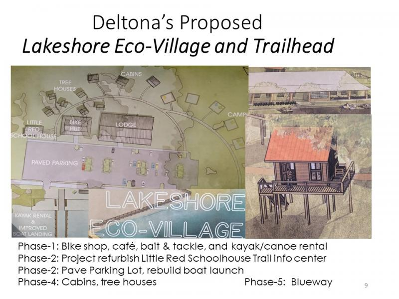 Vision for Deltona Lakeshore Eco-Village and Trailhead