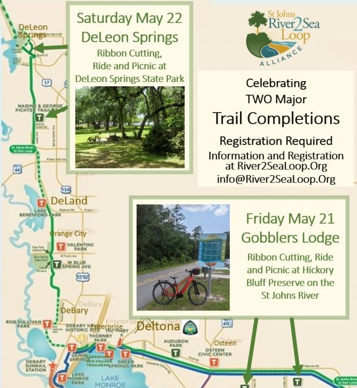 Two Rides to Celebrate Two Ribbon Cuttings #gobblerslodgetrailhead #bikedeleonsprings